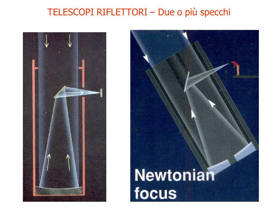 TELESCOPI RIFLETTORI – Due o più specchi