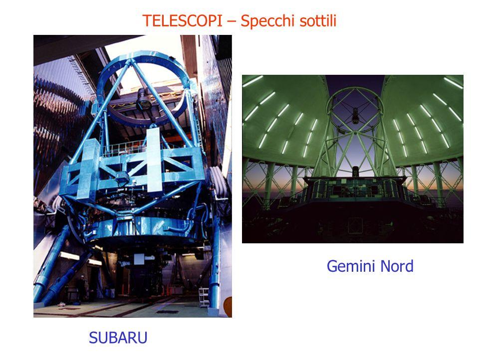 TELESCOPI – Specchi sottili SUBARU Gemini Nord
