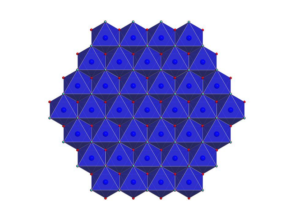 [M(II) 1-x M(III) x (OH) 2 ] x+ (A n- x/n ) x- ·mH 2 O M(II)= Mg, Zn, Co, Ni, Cu, Mn.
