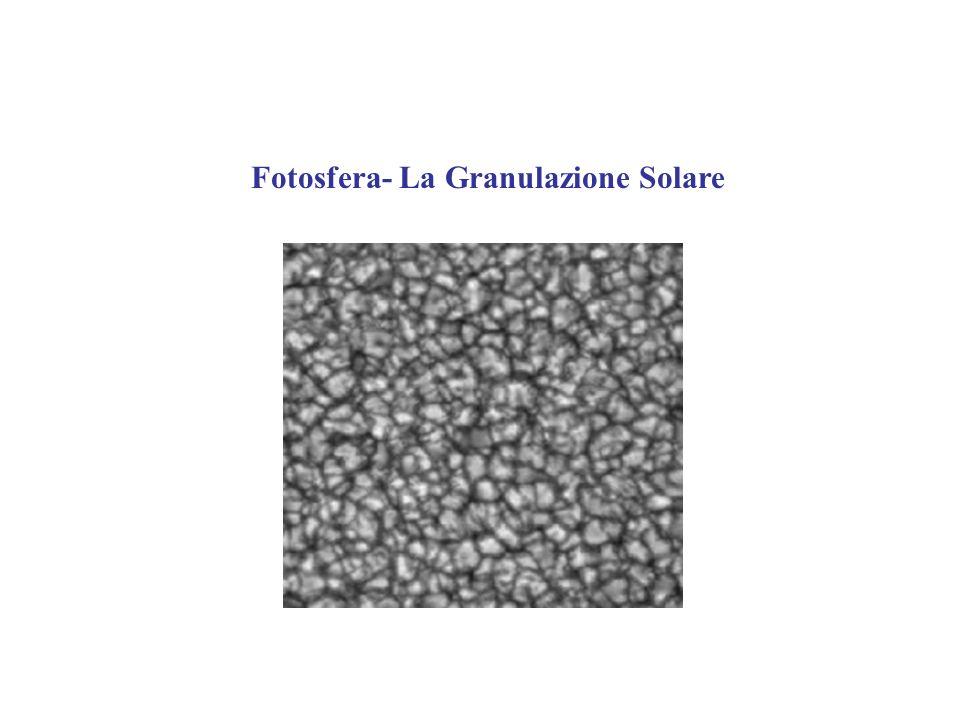 Fotosfera- La Granulazione Solare