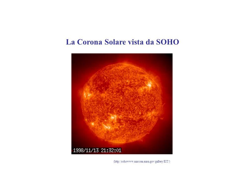 La Corona Solare vista da SOHO (http://sohowww.nascom.nasa.gov/gallery/EIT/)