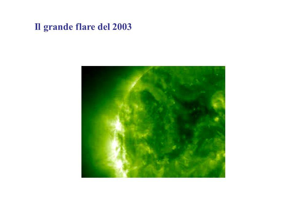 Il grande flare del 2003