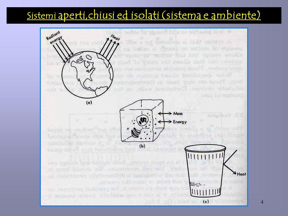 4 Sistemi aperti,chiusi ed isolati (sistema e ambiente)