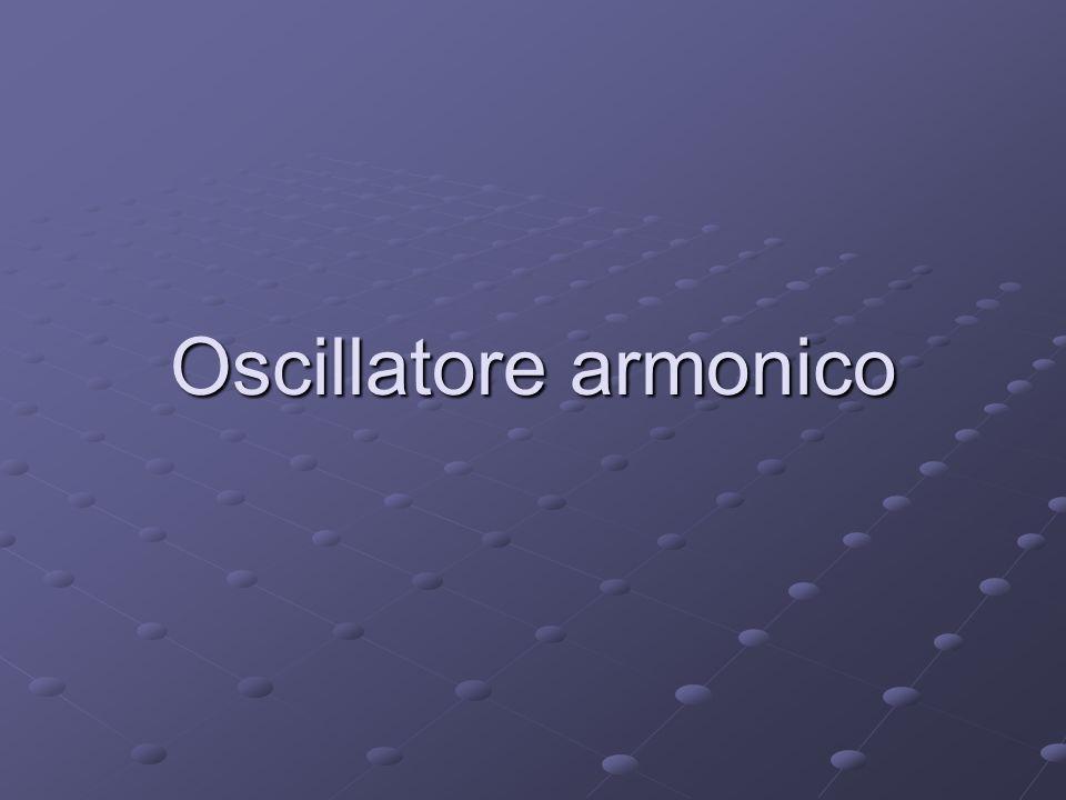 Il moto armonico semplice Il moto armonico semplice è il moto di un oscillatore armonico, nel caso non sia né forzato né attenuato da forze esterne.