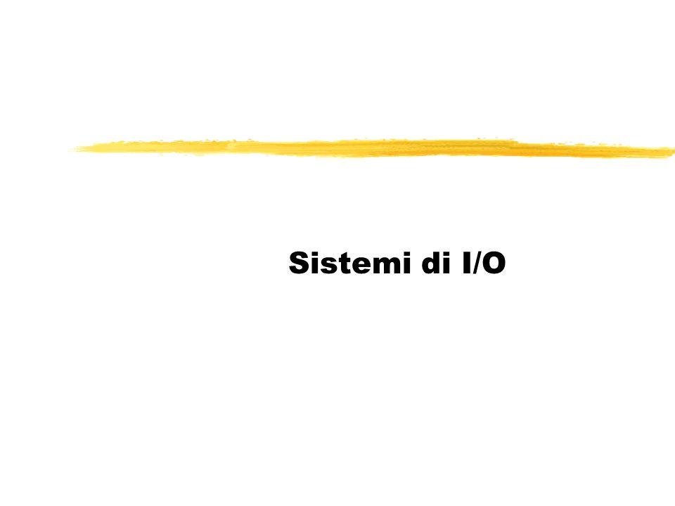 Sistemi di I/O