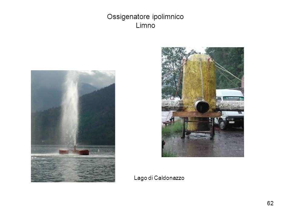 62 Ossigenatore ipolimnico Limno Lago di Caldonazzo