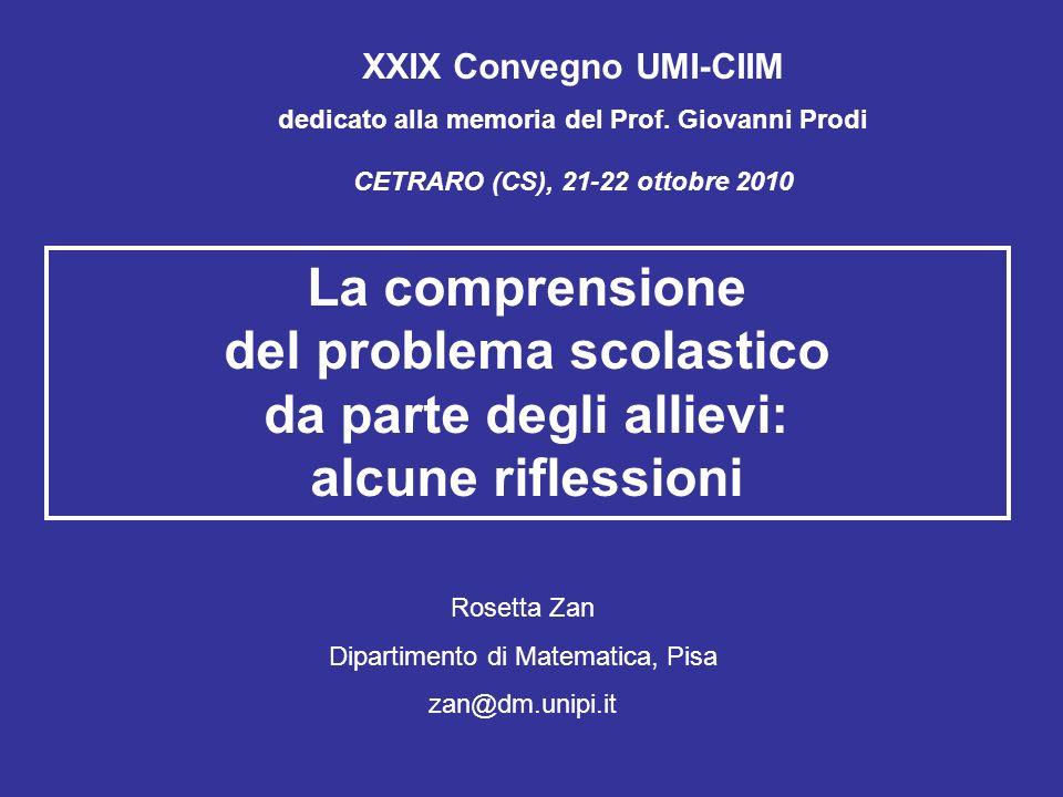 XXIX Convegno UMI-CIIM dedicato alla memoria del Prof.