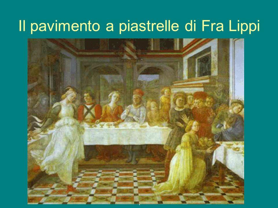 g.e.a.p. 08/09 1 Il pavimento a piastrelle di Fra Lippi