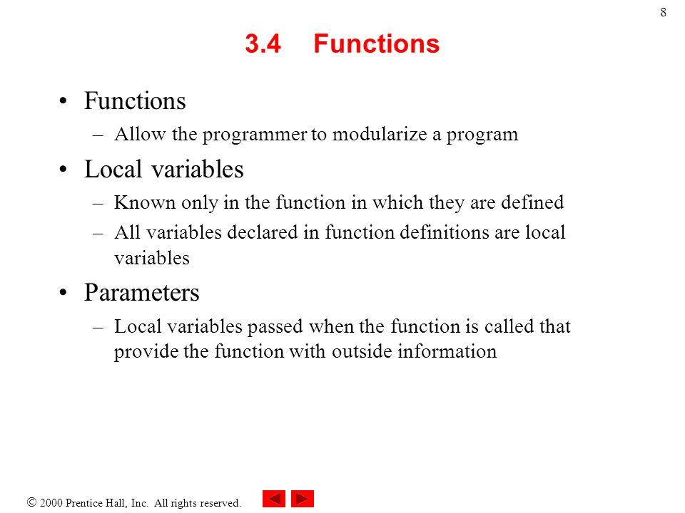 39 Progettazione Simuliamo il lancio dei dadi, utilizzando la funzione rand().