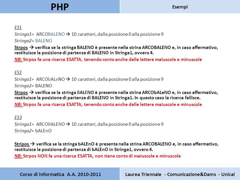 Pagina principale Scrivere uninterfaccia PHP che contiene I seguenti campi: Nome Cognome Password Pagina secondaria Verifica che il codice sia valido.