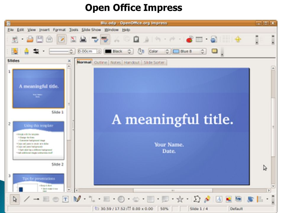 Open Office Impress