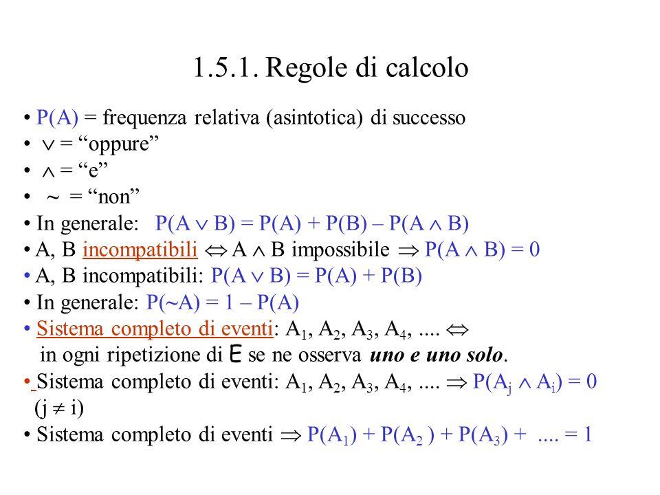Eventi composti Lo spazio campionario del lancio di due dadi e levento A = esce 8 selezionato.