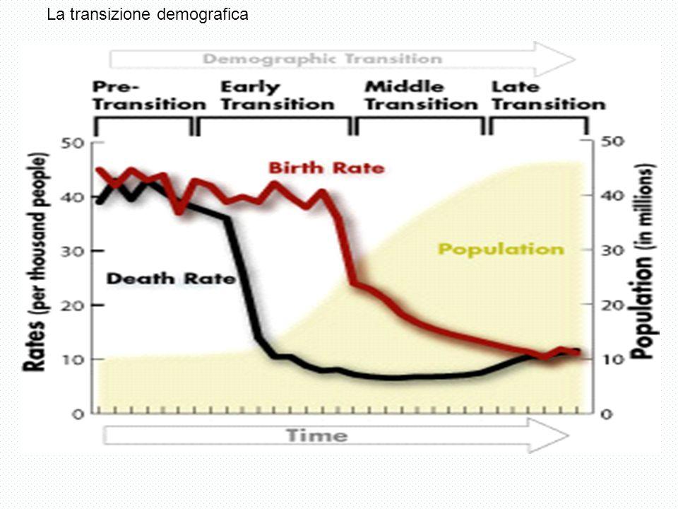 T.Natalità T.Mortalità Per mille Natalità e mortalità per grandi aree