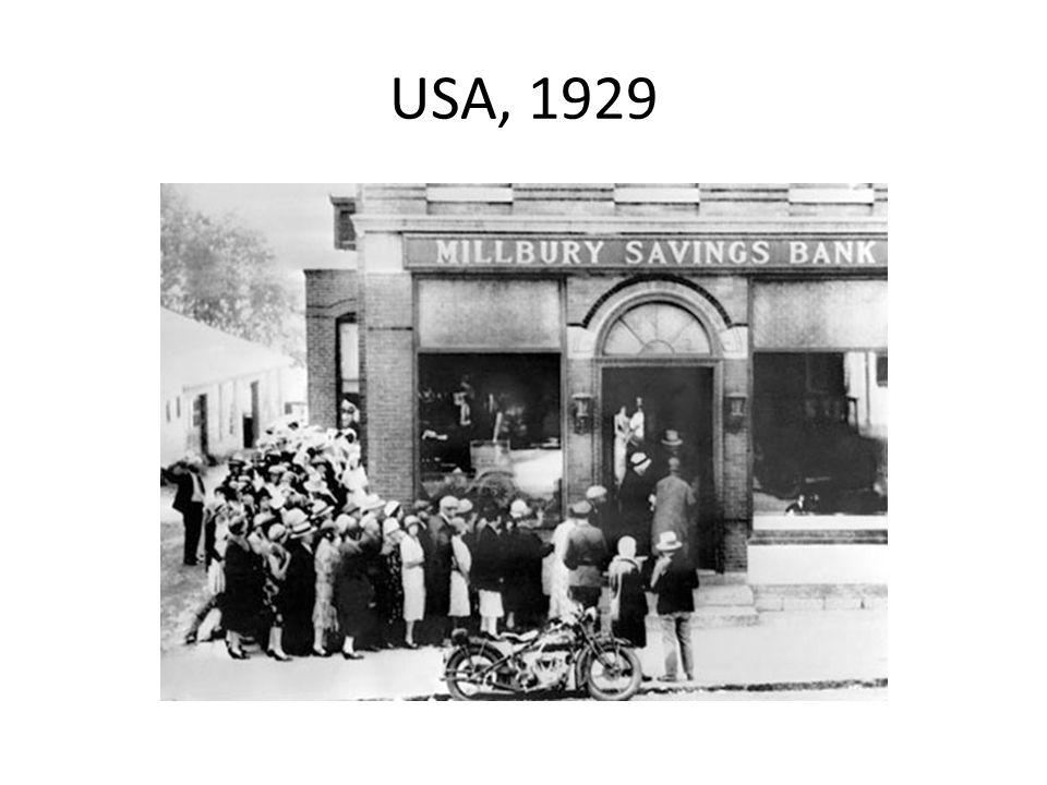 USA, 1929