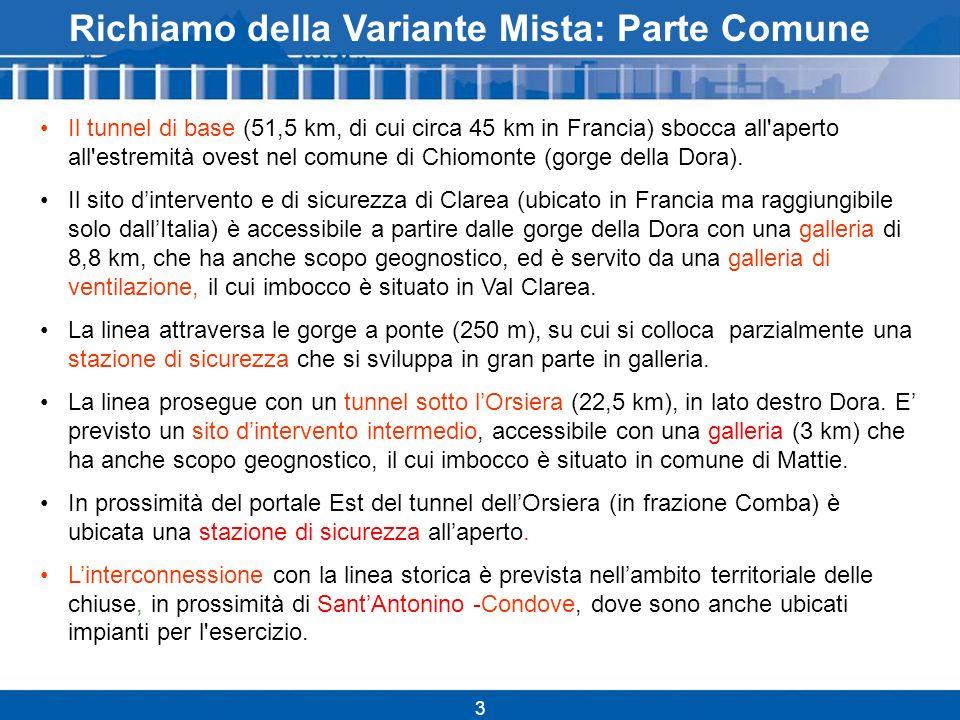 14 Criticità territoriali: Mattie 3.