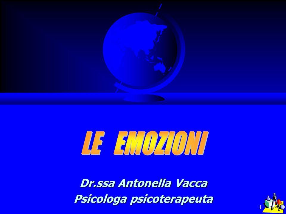 1 Dr.ssa Antonella Vacca Psicologa psicoterapeuta