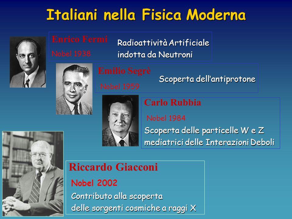 Fondatore del Metodo Scientifico Moderno Contributi fondamentali alla meccanica e allastronomia GALILEO Guglielmo Marconi Premio Nobel per la Fisica n