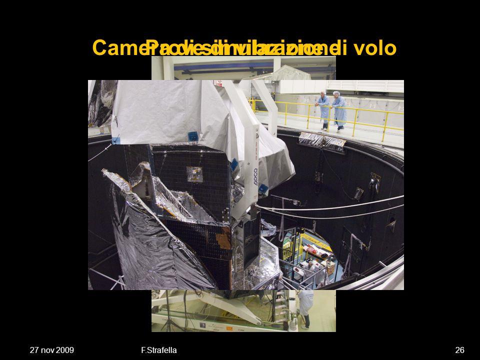27 nov 2009F.Strafella26 Prove di vibrazioneCamera di simulazione di volo