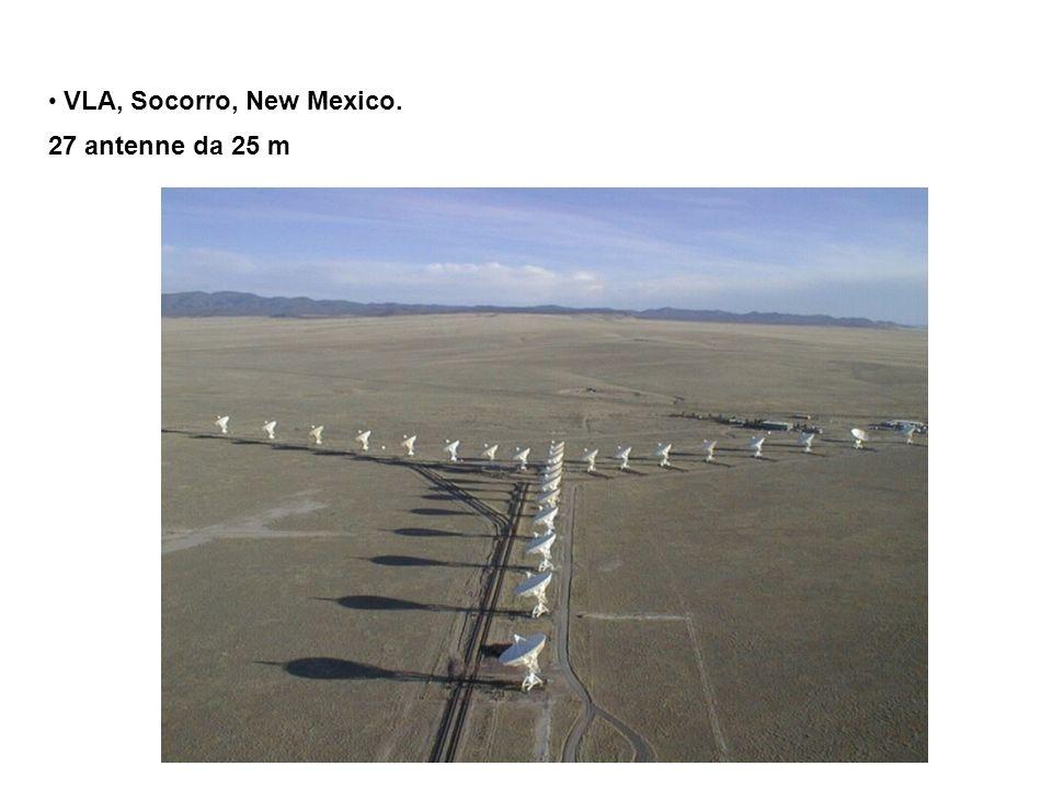 VLA, Socorro, New Mexico. 27 antenne da 25 m
