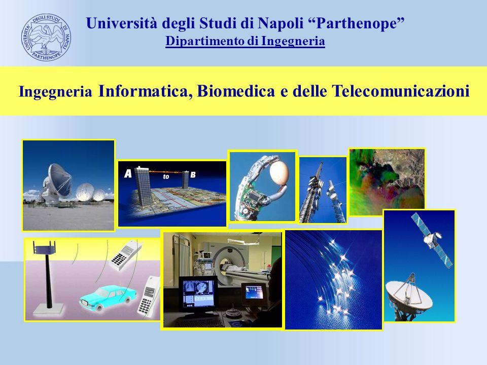 Ingegneria Informatica, Biomedica e delle Telecomunicazioni Università degli Studi di Napoli Parthenope Dipartimento di Ingegneria