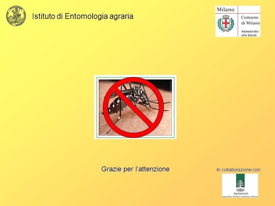 Istituto di Entomologia agraria Grazie per lattenzione In collaborazione con: