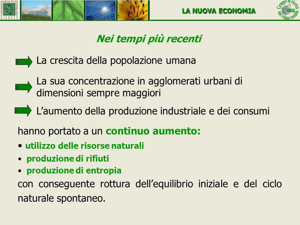Il concetto di sostenibilità ha quattro dimensioni Sostenibilità economica, come capacità di generare reddito e lavoro per il sostentamento delle popolazioni.