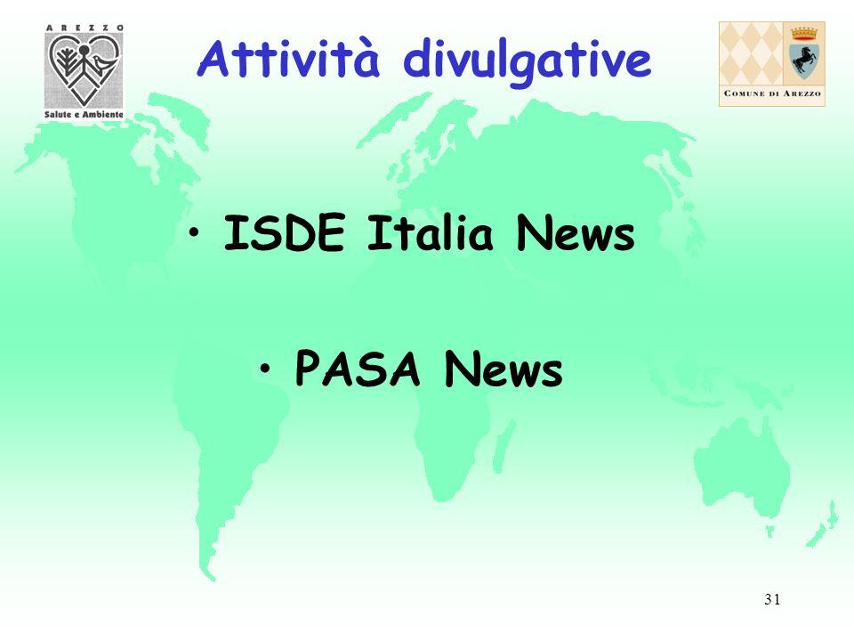 31 ISDE Italia News PASA News Attività divulgative