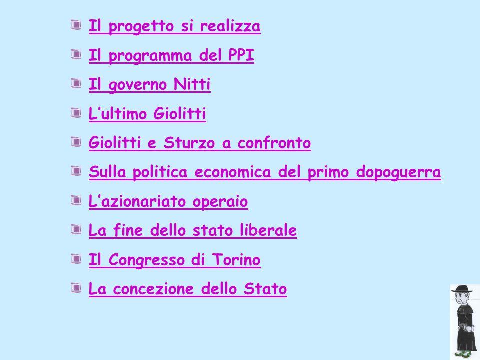 Congresso di Torino ( 12-14 Aprile 1923) Al congresso di Torino (dal 12 al 14 aprile 1923) Sturzo delinea le ragioni della sua opposizione al fascismo e decide di non collaborare col governo Mussolini.