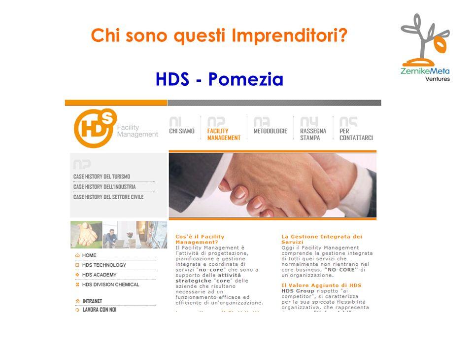 Chi sono questi Imprenditori? HDS - Pomezia