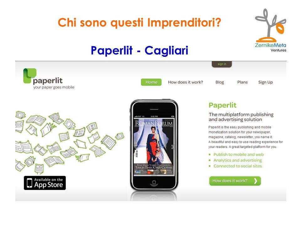 Chi sono questi Imprenditori? Paperlit - Cagliari