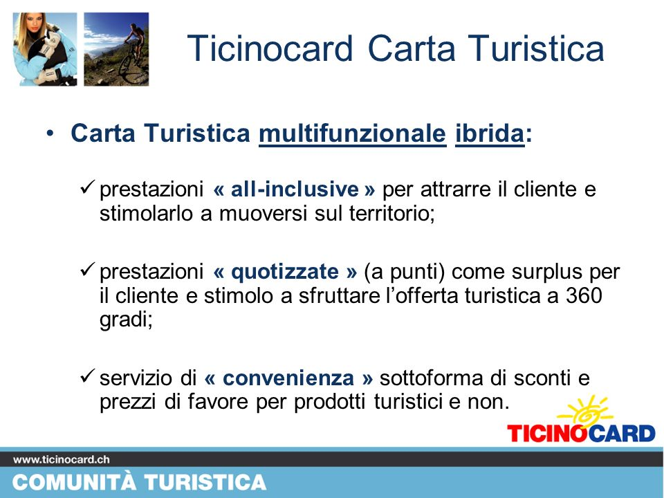 TI Ticino Card SA Carta Turistica BUSINESS PLAN