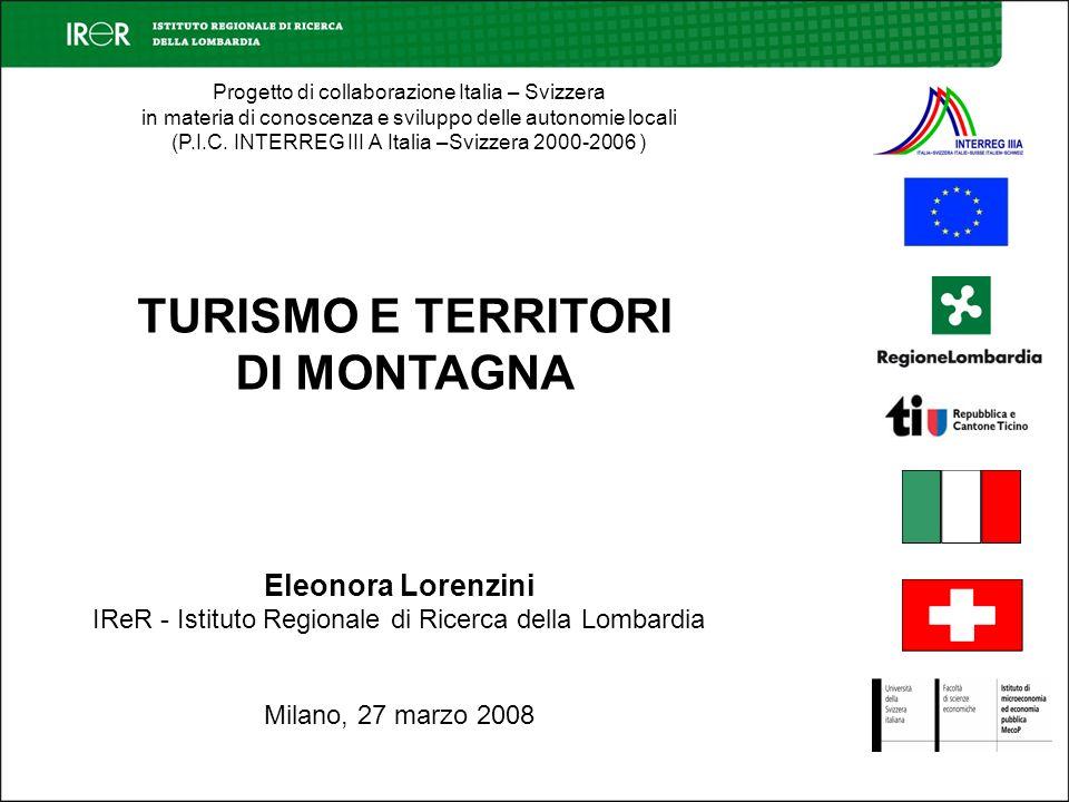 Progetto di collaborazione Italia – Svizzera in materia di conoscenza e sviluppo delle autonomie locali (P.I.C. INTERREG III A Italia –Svizzera 2000-2