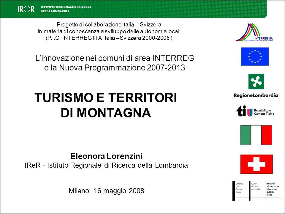 Progetto di collaborazione Italia – Svizzera in materia di conoscenza e sviluppo delle autonomie locali (P.I.C.