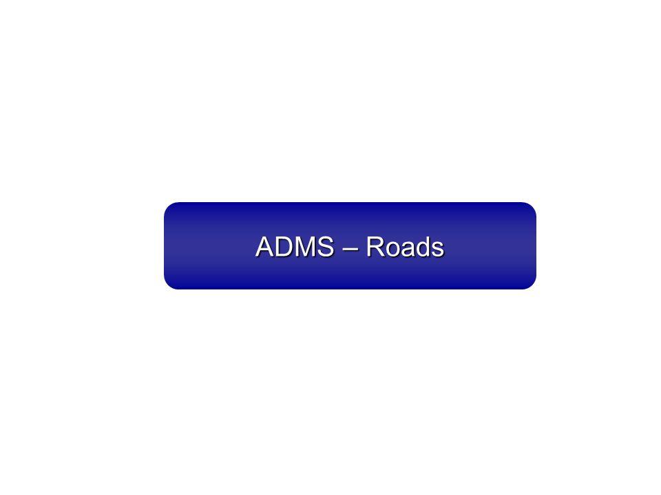 ADMS – Roads