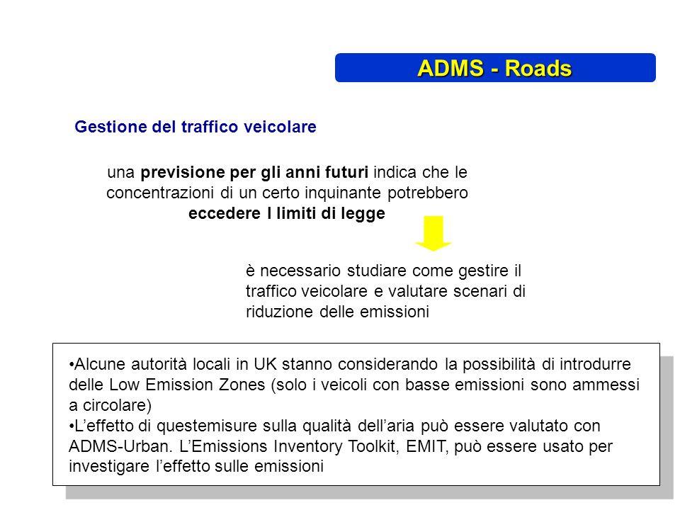 Gestione del traffico veicolare è necessario studiare come gestire il traffico veicolare e valutare scenari di riduzione delle emissioni Alcune autori