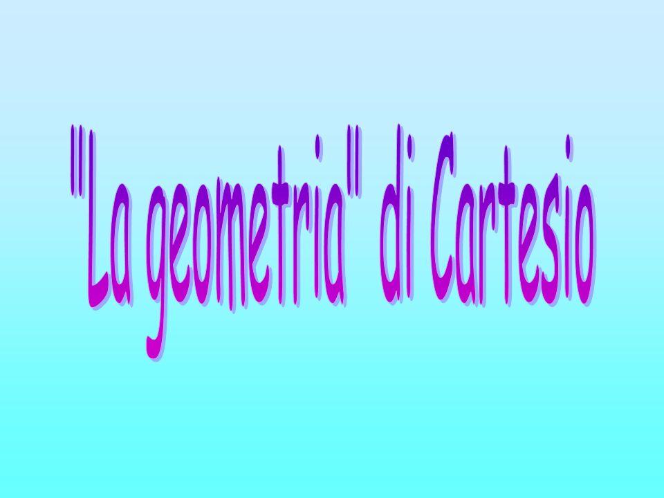 Cartesio non classifica le curve geometriche attribuendo uno stesso grado alla curva e allequazione che la raffigura,egli infatti classifica le funzioni in generi: ad equazioni di 2° grado corrispondono funzioni del 1° genere (cerchio, parabola, ellissi, iperbole); ad equazioni di 3° o 4° grado curve del 2° genere; a equazioni di 5° o 6° grado curve del 3° genere; In questa classificazione Cartesio non ha però compreso la retta.