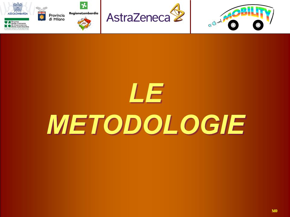 LE METODOLOGIE M0