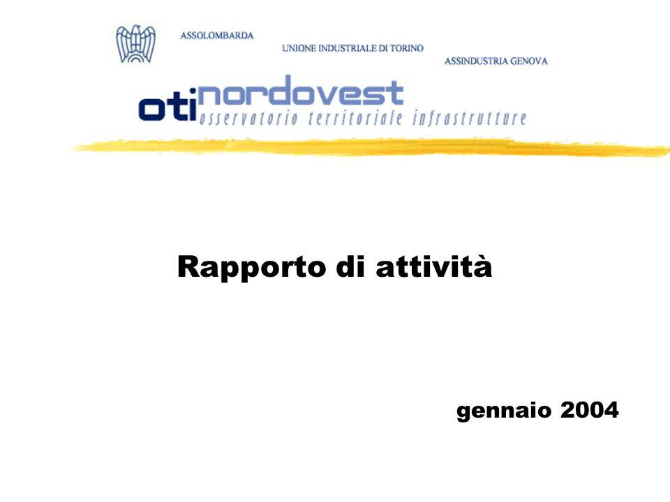 Rapporto di attività gennaio 2004