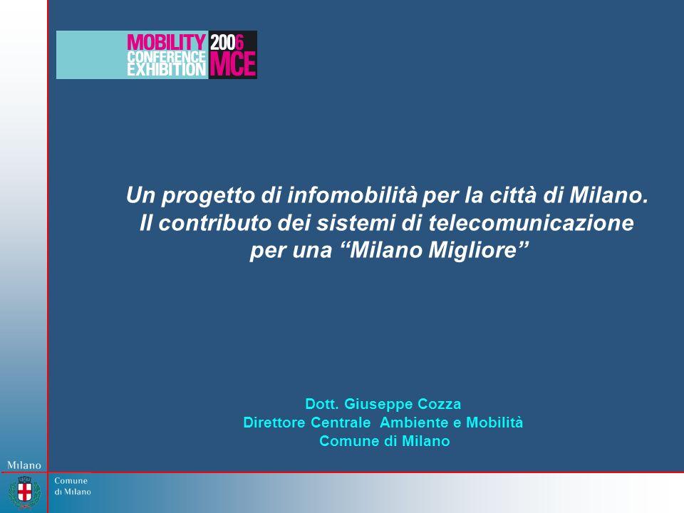 Un progetto di infomobilità per la città di Milano.