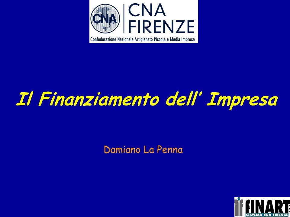 Il Finanziamento dell Impresa Damiano La Penna