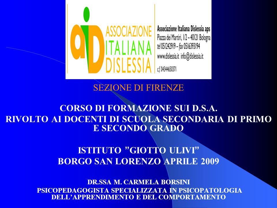 Lanomalia italiana la conoscenza del fenomeno dislessia è stata a lungo limitata ad una ristretta cerchia di specialisti.