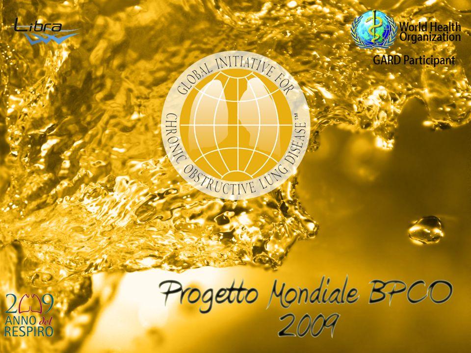 lobal Initiative for Chronic bstructive ung isease Linee-Guida Italiane Modena 1-4/3/2009 PROGETTO MONDIALE BPCO GARD Participant G O L D