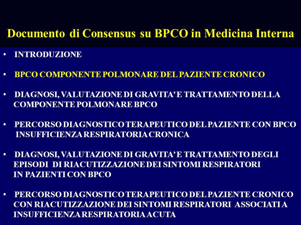 Inquadramento BPCO nellambito delle malattie croniche Raffaele Antonelli Incalzi