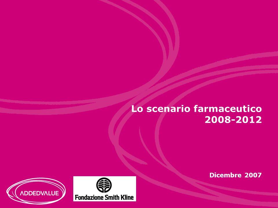 Lo scenario farmaceutico 2008-2012 Dicembre 2007