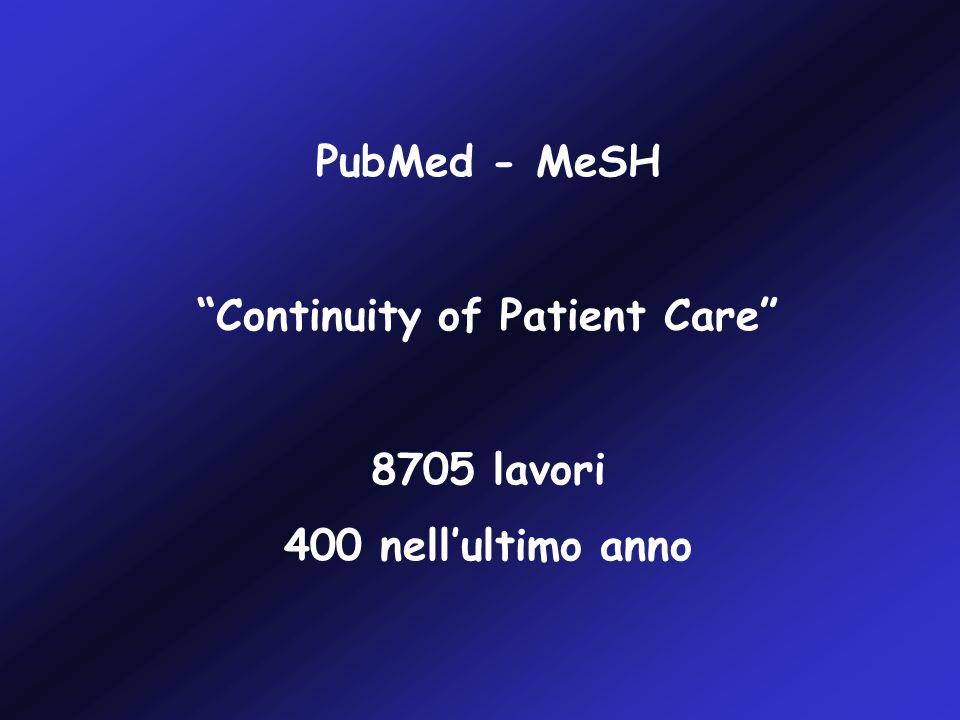 Le relazioni di dimissione sono spesso carenti di informazioni importanti: - risultati di test diagnostici (35-63%) - trattamenti durante il ricovero (7-22%) - terapie alla dimissione (2-40%) - test diagnostici in corso di refertazione (65%) - informazioni al paziente e ai parenti (90- 92%) - schemi per il follow up (2-43%) JAMA 2007, 297, 831 Deficits in communication and information transfer between Hospital- based and Primary Care Physicians Kripalani S, LeFevre F, Phillips CO, Williams MV, Basaviah P, Baker DW