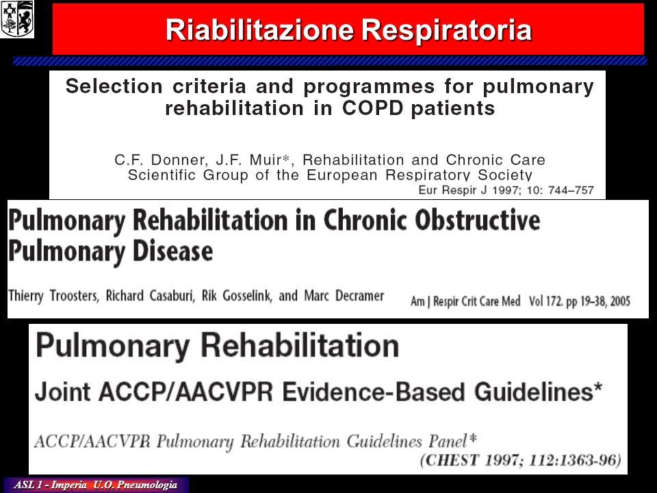 ASL 1 - Imperia U.O. Pneumologia Riabilitazione Respiratoria