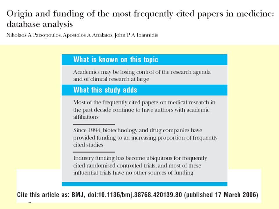 Funding ed Articoli