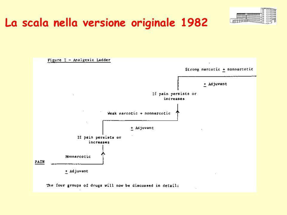 La scala nella versione originale 1982