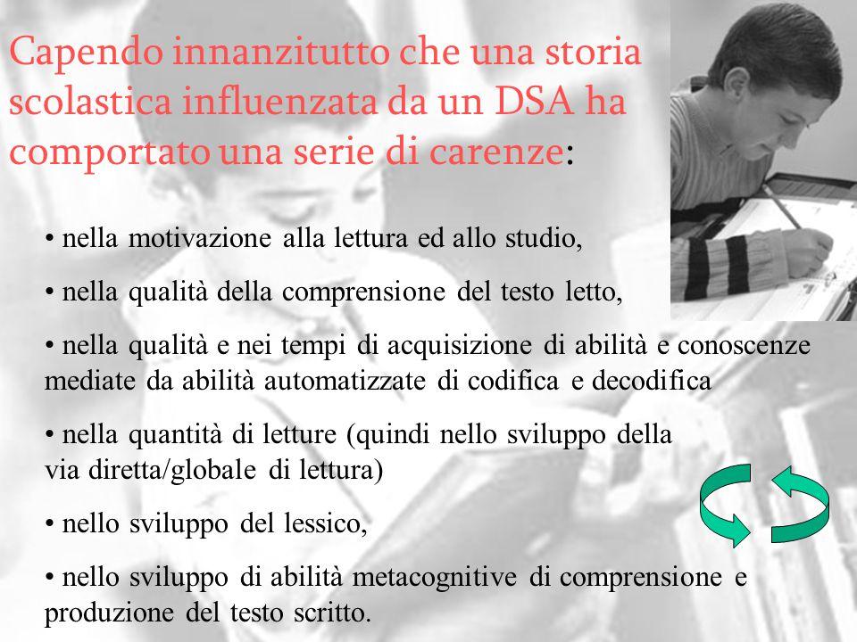 All dyslexics have very poor writing (mechanics and skills). (Source: The Source for Dyslexia and Dysgraphia) nella motivazione alla lettura ed allo s