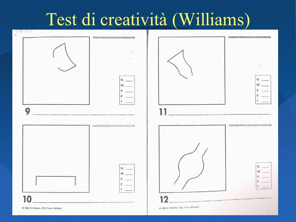 Test di creatività (Williams)